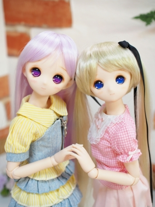 D姫姉とB開眼姫