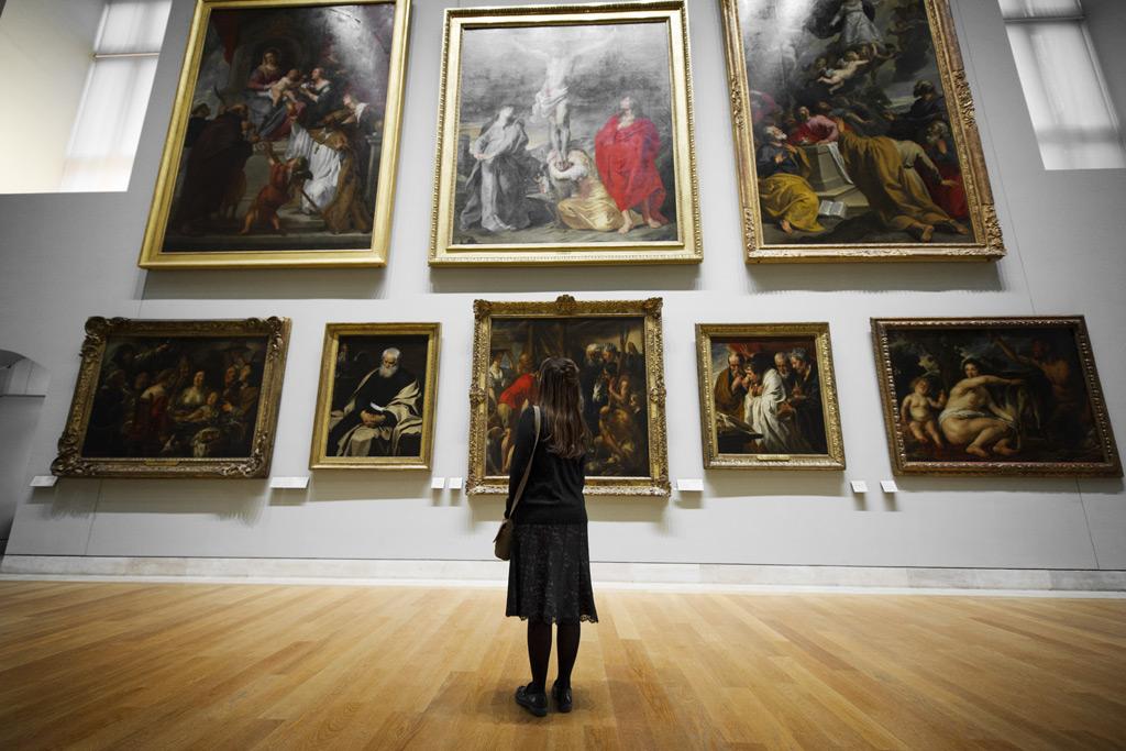 芸術展の写真