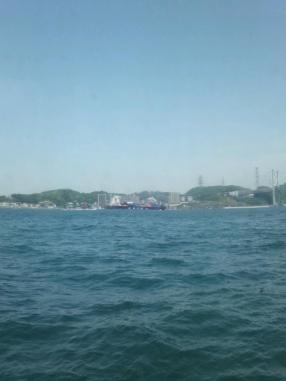 船から風景