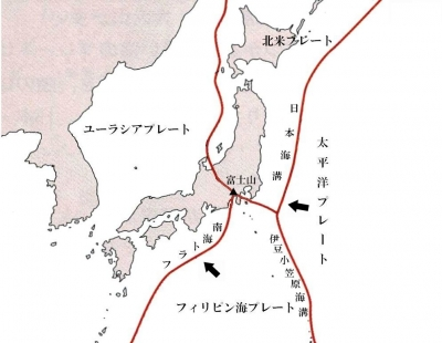 日本プレート地図