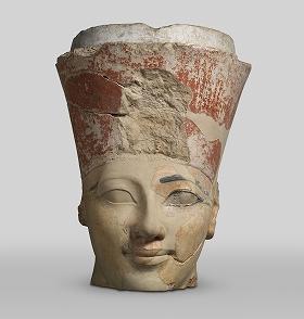 ハトシェプスト女王像の頭部