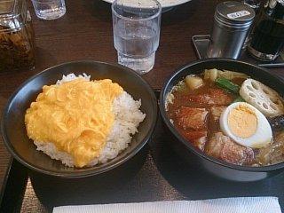 CoCo壱番屋 石山通り店 チキンスープカレー(その1)