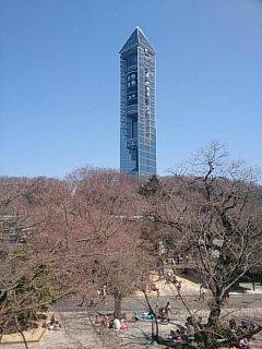 東山公園のタワー
