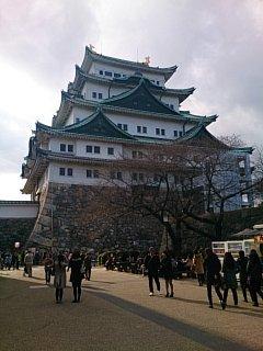 壮大な名古屋城!