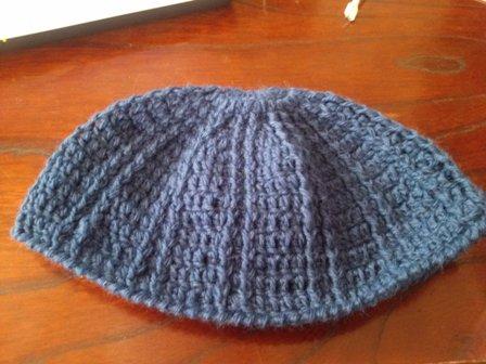 手編みの帽子4