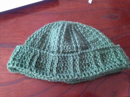 手編みの帽子5