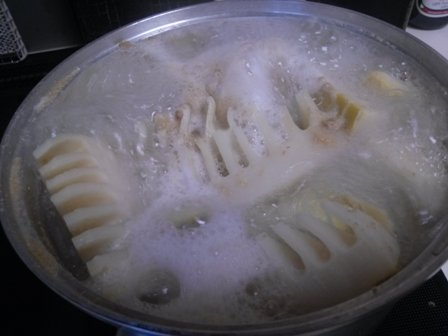 タケノコご飯1