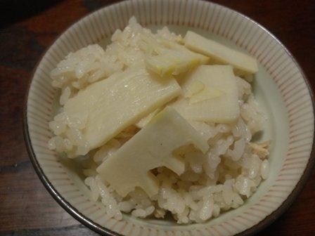 タケノコご飯5