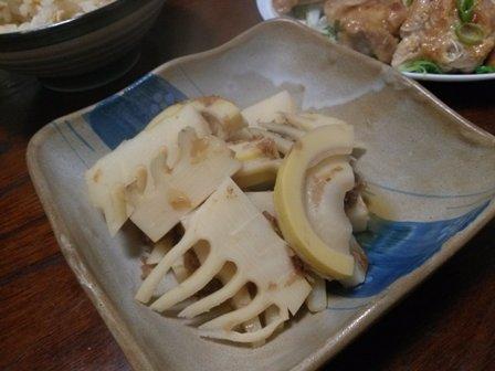 タケノコのおかか煮