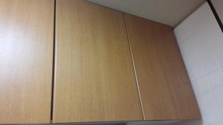 自宅リフォーム台所つり戸棚2