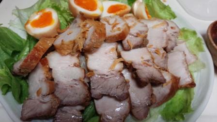 煮豚と玉子1