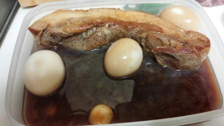 煮豚と玉子2