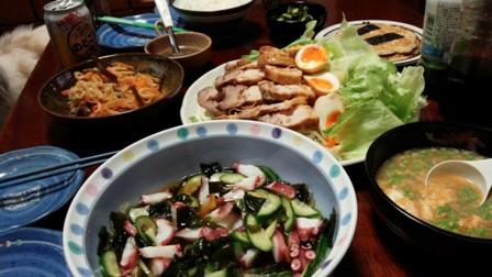 煮豚と玉子3