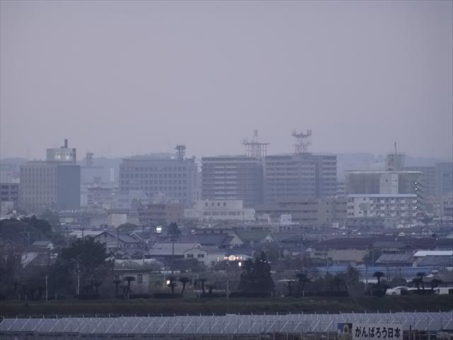 空港から見る市街地 1