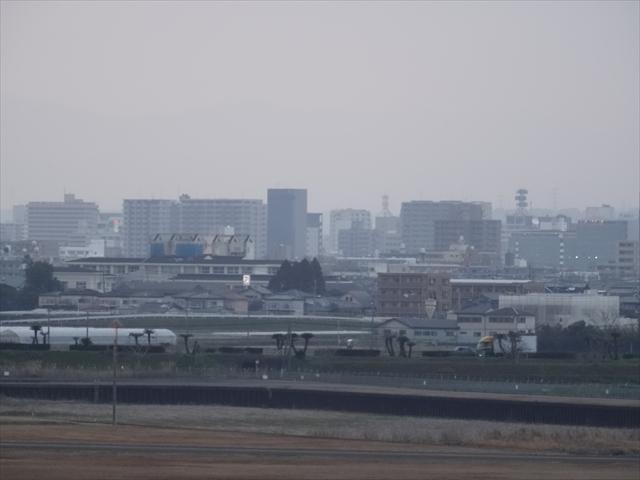 空港から見る市街地 2