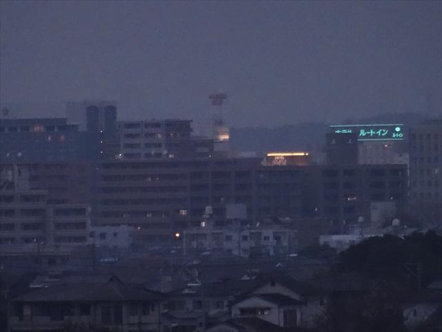 空港から見る市街地 4