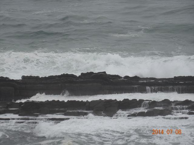 台風 海 1