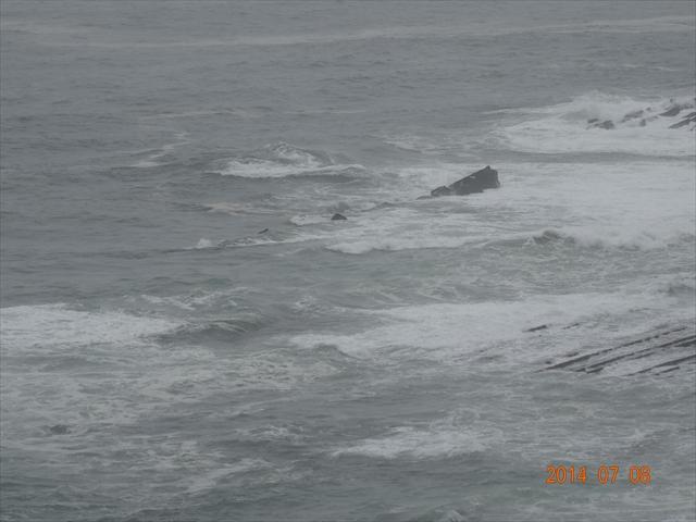 台風 海 2