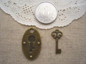 鍵穴、お洒落なキー