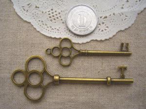 大きな鍵2種