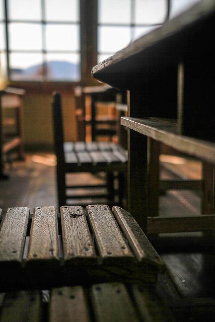 岡山県真庭市の旧遷喬尋常小学校