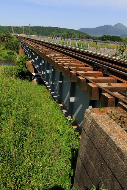 大山 鉄道 鉄橋