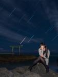 星の軌跡ポートレート_2