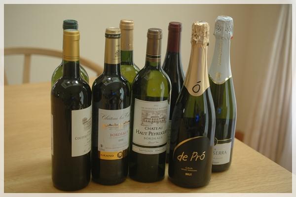 ワインがたくさん届いた!