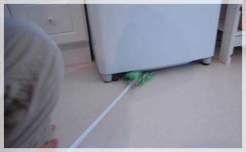 洗濯機下掃除