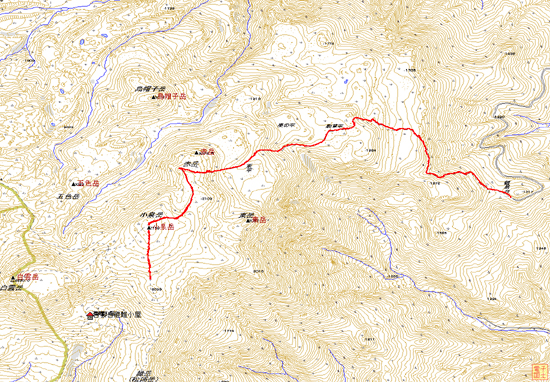 daisetsuakadake map