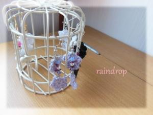 レース編みピアス0704-2のコピー