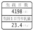 回転型(1日当たり乳量)