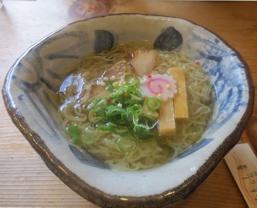 竹燻製麺(¥650)