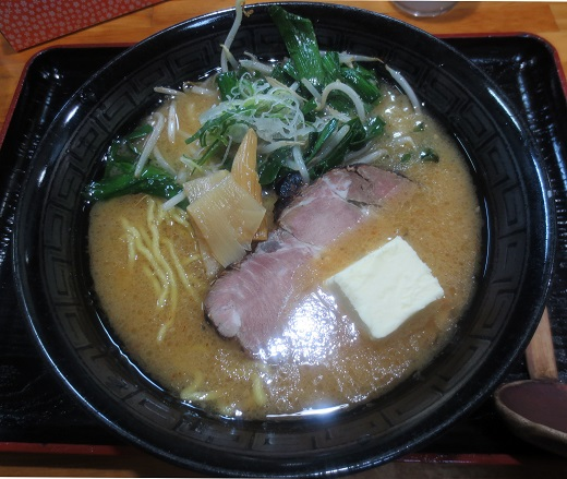 仁力味噌(¥750)+バター(¥100)