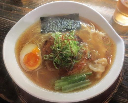 鰹武士醤油麺(¥700)