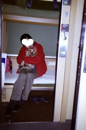 0308寝台列車