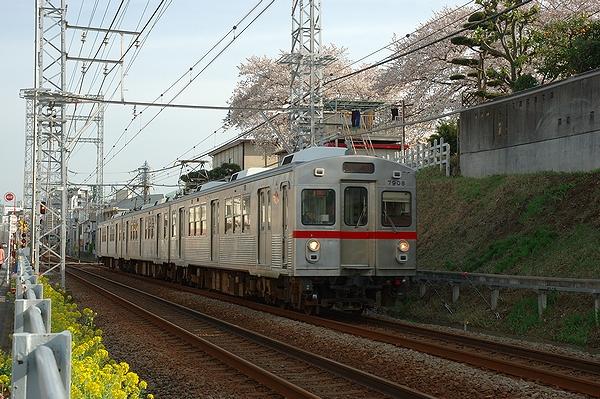 2014/03/31@久が原駅~千鳥町駅間