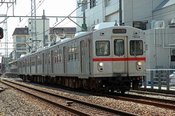 2014/04/07@雪が谷大塚駅~御嶽山駅間