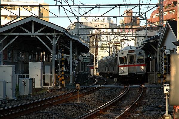 2010/12/15@池上駅付近