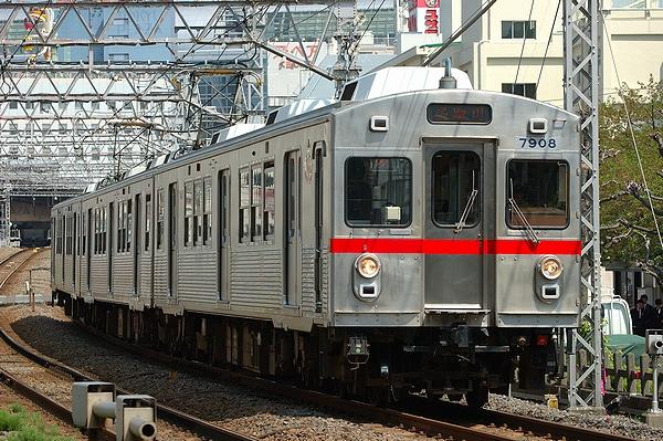 2012/04/24@矢口渡駅~蒲田駅間