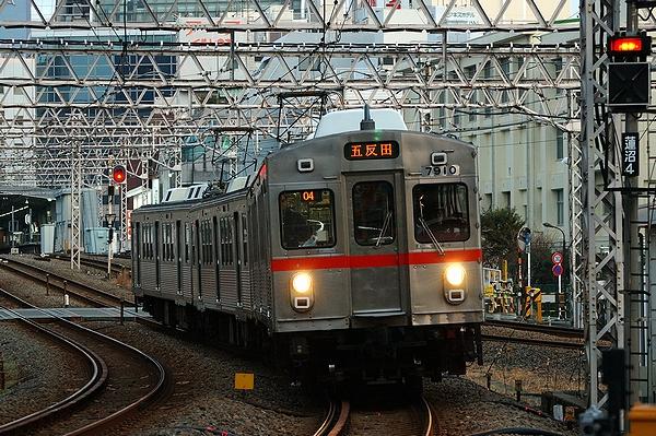 2012/02/01@蓮沼駅~蒲田駅間