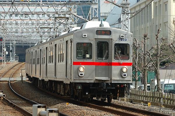 2012/03/06@矢口渡駅~蒲田駅間