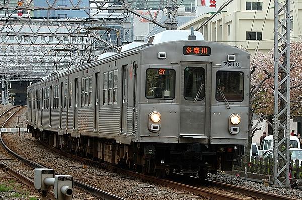2012/04/16@矢口渡駅~蒲田駅間