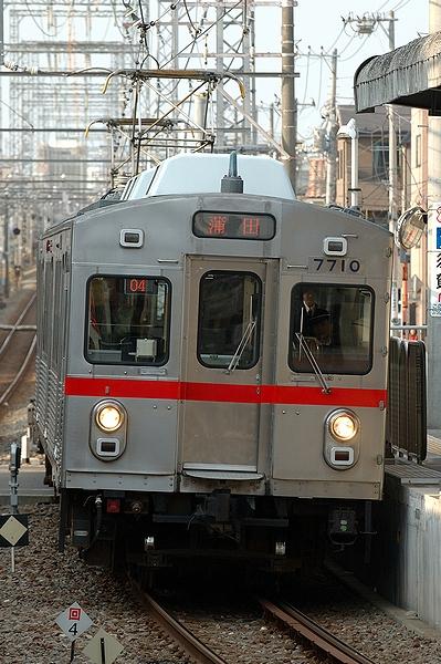 2012/02/01@千鳥町駅
