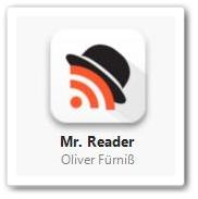 RSSリーダーアプリ