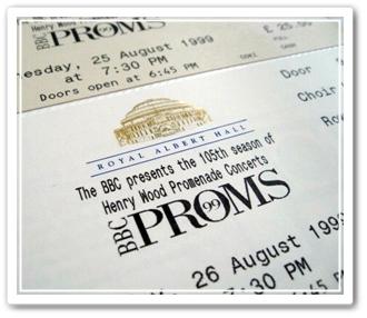 プロムス99チケット