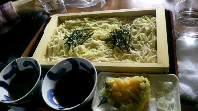 ラーメンと日本蕎麦