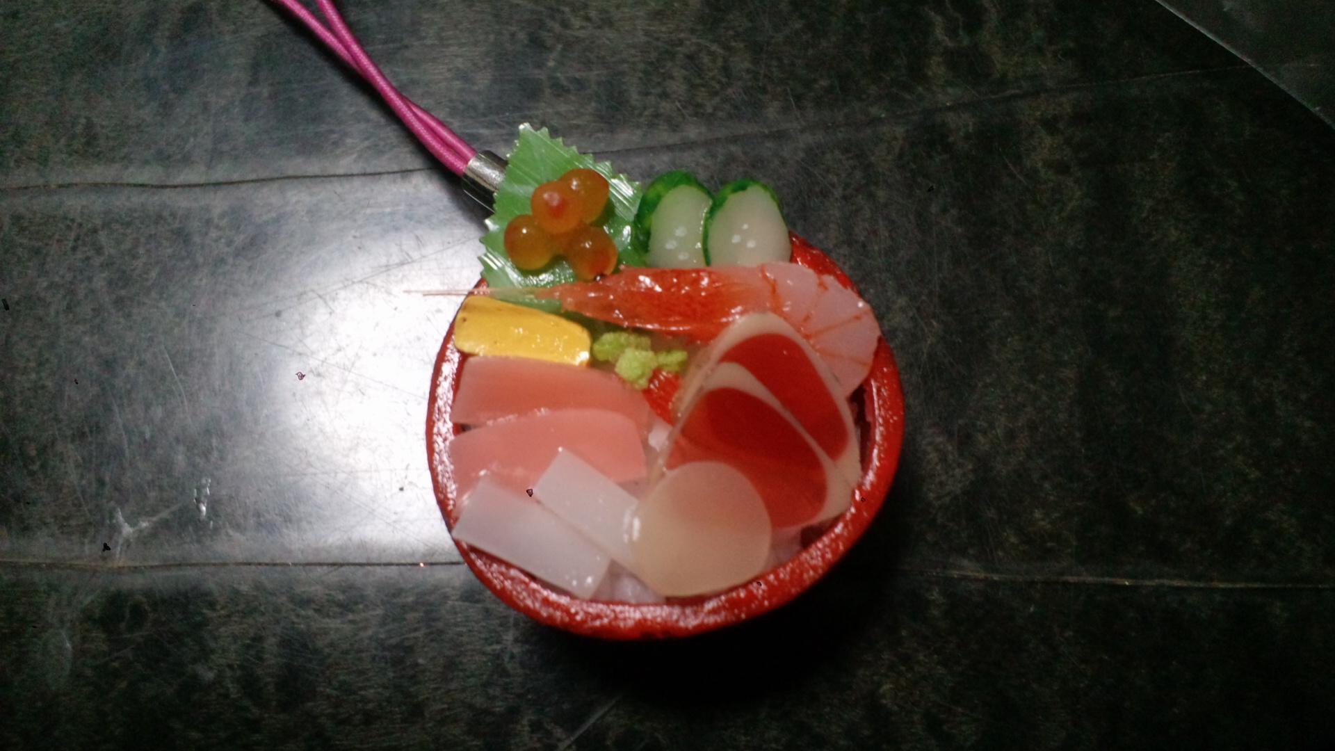 海鮮丼ストラップ