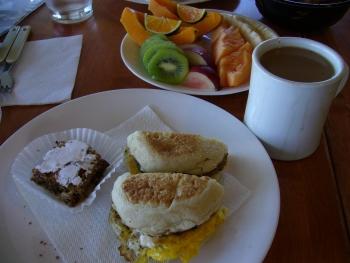マカイハレ朝食1