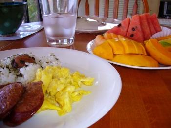 マカイハレ朝食2